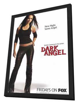 Dark Angel - 27 x 40 TV Poster - Style A - in Deluxe Wood Frame