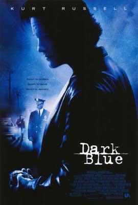 Dark Blue - 11 x 17 Movie Poster - Style A