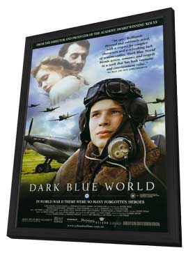 Dark Blue World - 11 x 17 Movie Poster - Style A - in Deluxe Wood Frame