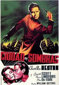 Dark City - 11 x 17 Movie Poster - Spanish Style A