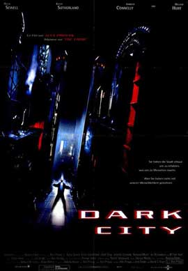 Dark City - 11 x 17 Movie Poster - German Style A