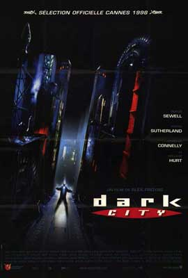 Dark City - 27 x 40 Movie Poster - French Style A