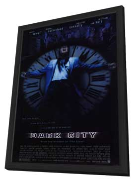 Dark City - 11 x 17 Movie Poster - Style A - in Deluxe Wood Frame