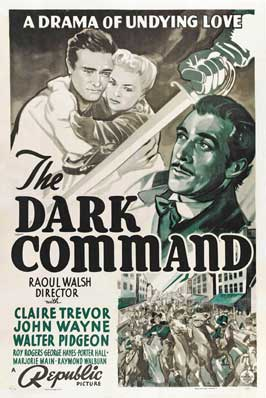 Dark Command - 27 x 40 Movie Poster - Style A