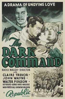 Dark Command - 27 x 40 Movie Poster - Style B