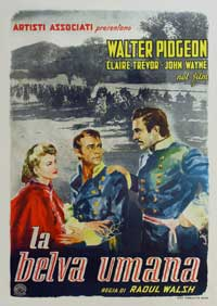 Dark Command - 27 x 40 Movie Poster - Italian Style A