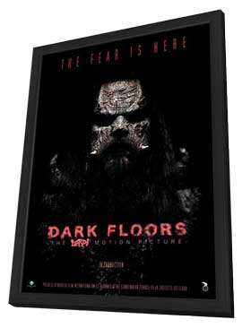 Dark Floors - 11 x 17 Movie Poster - French Style A - in Deluxe Wood Frame
