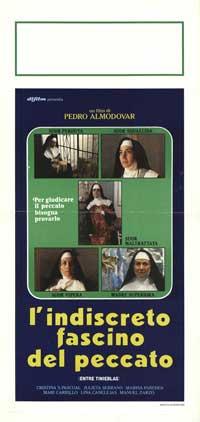Dark Habits - 13 x 28 Movie Poster - Italian Style A