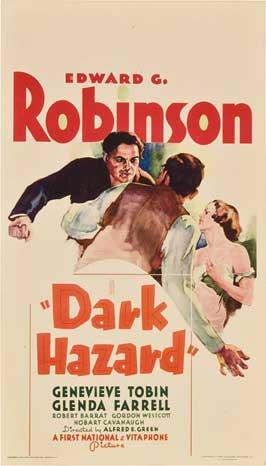 Dark Hazard - 11 x 17 Movie Poster - Style A