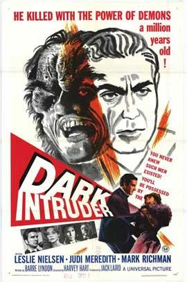 Dark Intruder - 11 x 17 Movie Poster - Style A