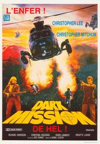 Dark Mission: Evil Flowers - 27 x 40 Movie Poster - Belgian Style A
