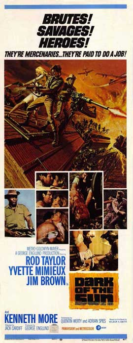Dark of the Sun - 14 x 36 Movie Poster - Insert Style A