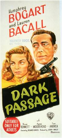 Dark Passage - 11 x 17 Movie Poster - Style C