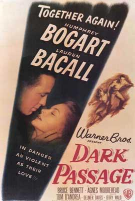 Dark Passage - 27 x 40 Movie Poster - Style A