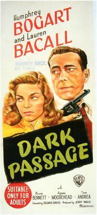 Dark Passage - 27 x 40 Movie Poster - Style C