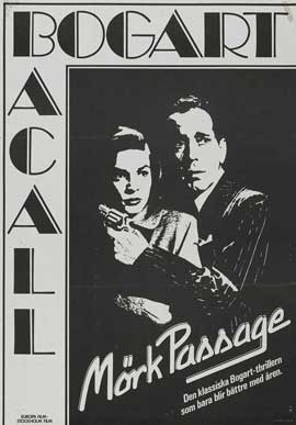 Dark Passage - 11 x 17 Movie Poster - Swedish Style G