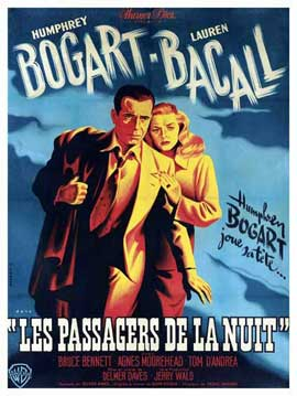 Dark Passage - 11 x 17 Movie Poster - French Style I