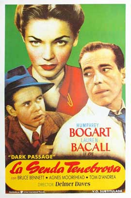 Dark Passage - 11 x 17 Movie Poster - Spanish Style K