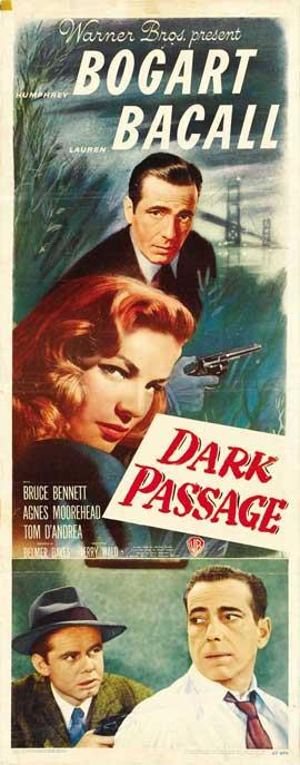 Dark Passage - 14 x 36 Movie Poster - Insert Style B