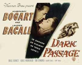 Dark Passage - 11 x 14 Movie Poster - Style D