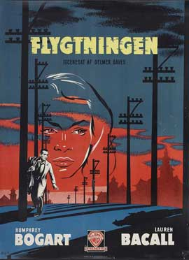 Dark Passage - 27 x 40 Movie Poster - Danish Style F