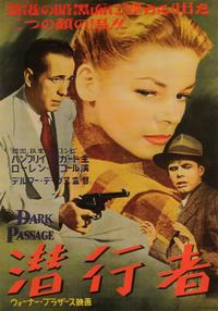 Dark Passage - 27 x 40 Movie Poster - Japanese Style A