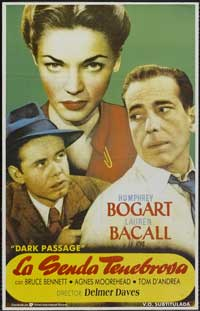 Dark Passage - 11 x 17 Movie Poster - Style B