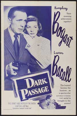 Dark Passage - 27 x 40 Movie Poster - Style E