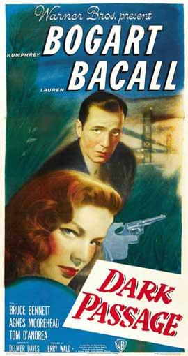 Dark Passage - 11 x 17 Movie Poster - Style H