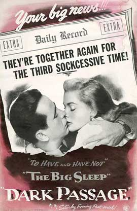Dark Passage - 11 x 17 Movie Poster - Style I