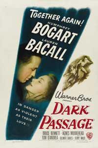 Dark Passage - 11 x 17 Movie Poster - Style J