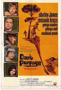 Dark Purpose - 27 x 40 Movie Poster - Style A