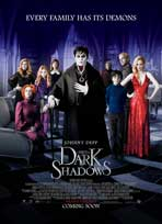 Dark Shadows - 11 x 17 Movie Poster - Style E