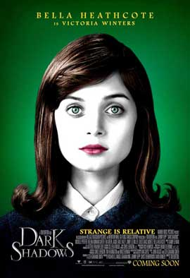 Dark Shadows - 11 x 17 Movie Poster - Style K