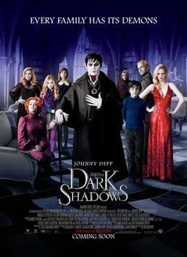 Dark Shadows - 43 x 62 Movie Poster - Bus Shelter Style A
