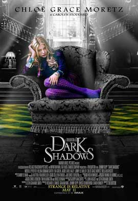 Dark Shadows - 27 x 40 Movie Poster - Style J