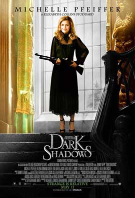 Dark Shadows - 11 x 17 Movie Poster - Style T