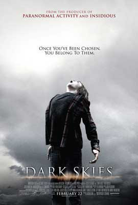 Dark Skies - DS 1 Sheet Movie Poster - Style A