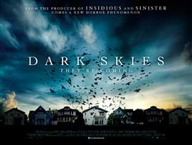 Dark Skies - 30 x 40 Movie Poster UK - Style A