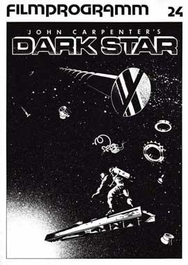 Dark Star - 11 x 17 Movie Poster - German Style A