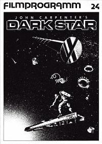 Dark Star - 43 x 62 Movie Poster - German Style A