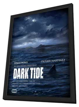 Dark Tide - 27 x 40 Movie Poster - Style A - in Deluxe Wood Frame
