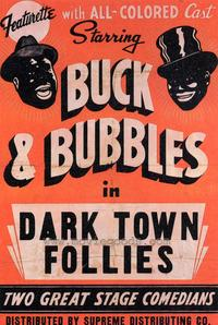 Dark Town Follies - 27 x 40 Movie Poster - Style A