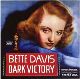Dark Victory - 11 x 17 Movie Poster - Style B