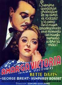 Dark Victory - 11 x 17 Movie Poster - Spanish Style B