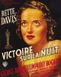 Dark Victory - 11 x 17 Movie Poster - French Style B