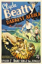 Darkest Africa - 27 x 40 Movie Poster - Style D
