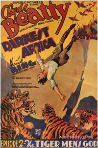 Darkest Africa - 11 x 17 Movie Poster - Style F