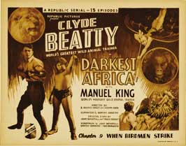 Darkest Africa - 22 x 28 Movie Poster - Half Sheet Style A