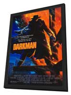 Darkman - 27 x 40 Movie Poster - Style A - in Deluxe Wood Frame